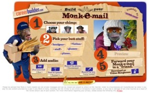 Career Builder's Monk-E-Mail Site