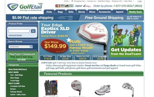 GolfEtailScreenShot